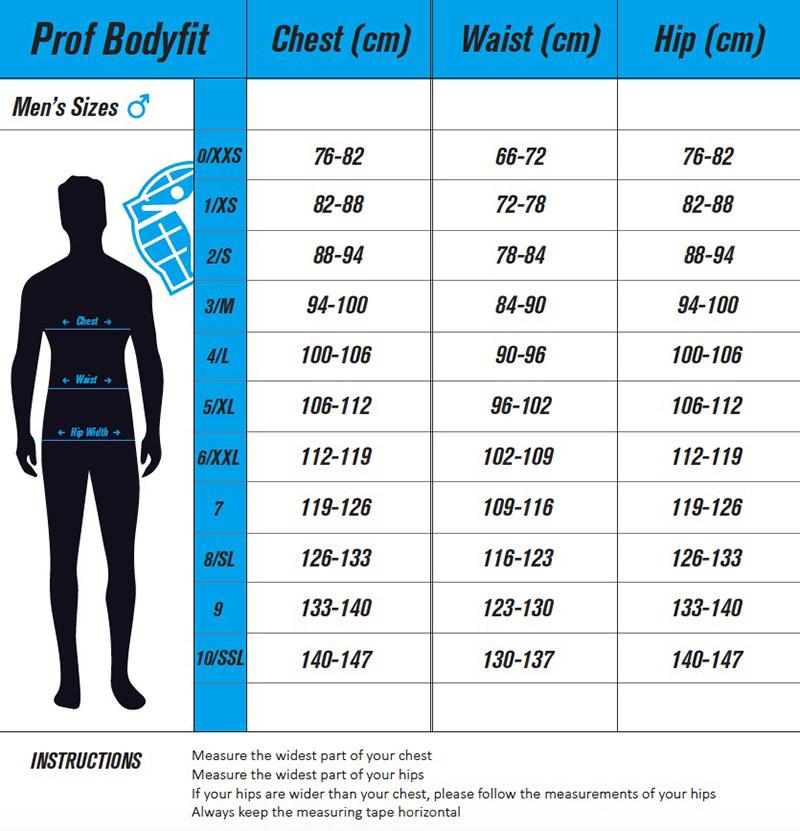 Prof bodyfit men
